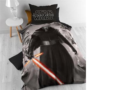 Disney dekbedovertrek nu slechts €28,95 | keuze uit 9 verschillende uitvoeringen Star Wars 7 Master