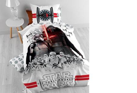 Disney dekbedovertrek nu slechts €28,95 | keuze uit 9 verschillende uitvoeringen Star Wars 7 The Force