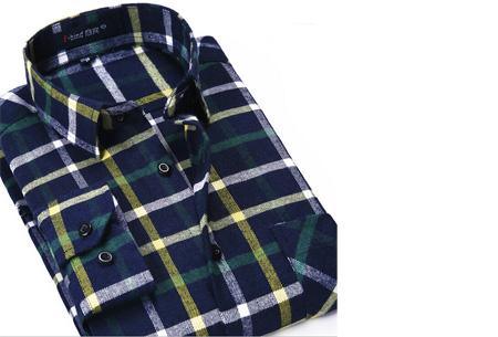 Geruit heren overhemd van luxe kwaliteit nu slechts €24,95 | Keuze uit 16 uitvoeringen DM04