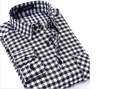 Geruit heren overhemd van luxe kwaliteit nu slechts €24,95 | Keuze uit 16 uitvoeringen DM17