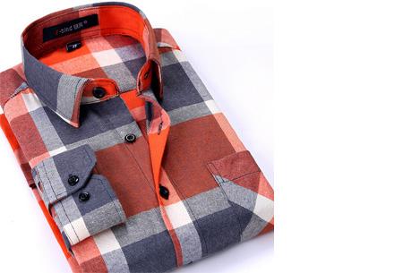 Geruit heren overhemd van luxe kwaliteit nu slechts €24,95 | Keuze uit 16 uitvoeringen DM18