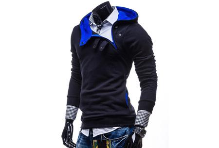Buttons heren sweater nu slechts €17,95 | Comfortabel & stijlvol Donkerblauw