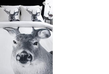 Dekbedovertrek met mooie dierenprint nu al vanaf €19,95 | Keuze uit 4 verschillende prints Hert