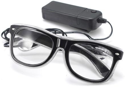 LED party bril nu slechts €9,95 | Steel de show op elk feestje