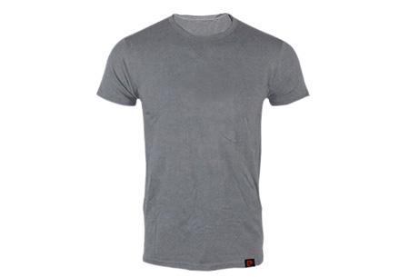 Pierre Cardin 3-pack heren t-shirts nu voor slechts €14,95 Grijs