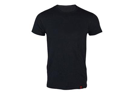 Pierre Cardin 3-pack heren t-shirts nu voor slechts €14,95 Zwart