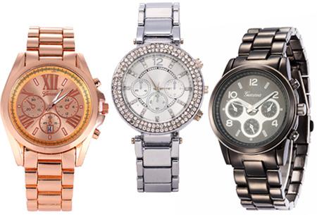 Outlet: diverse dames horloges nu slechts €9,95!