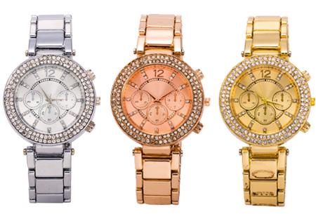 Diverse dames horloges |  Stijlvol & chique #1 Glitter