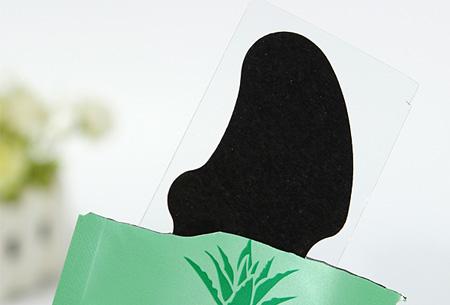 Aloë Vera poriënstrips 10 stuks nu slechts €4,95! Reinigt de poriën en verwijdert mee-eters