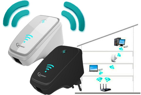 Gembird WiFi repeater 300 Mbps nu slechts €18,95
