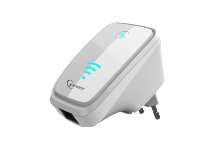 Gembird WiFi repeater 300 Mbps nu slechts €18,95 | Vergroot je WiFi signaal Wit