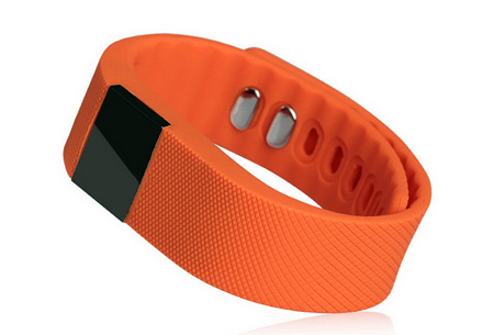 Activity tracker | Monitor je beweging en slaap! Oranje