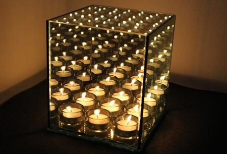 Infinity Light cube | Voor oneindig sfeerlicht