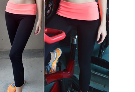 Sport legging nu slechts €9,95 | Comfortabel en in stijl sporten Oranje