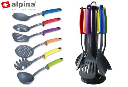 Alpina keukengerei set 7-delig nu slechts €14,95 | Onmisbaar in de keuken!