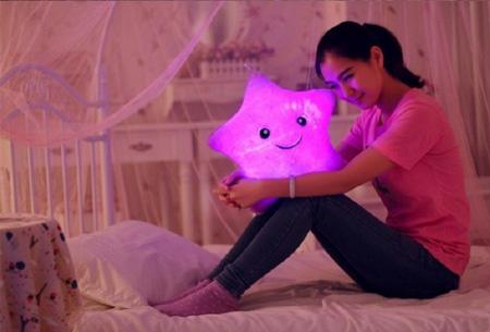 Ster LED knuffel nu slechts €12,95 | De perfecte knuffel voor jong & oud!