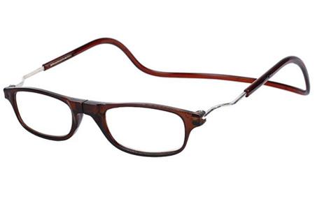 Sterkte +3.5 - Bruin - Magnetische leesbril