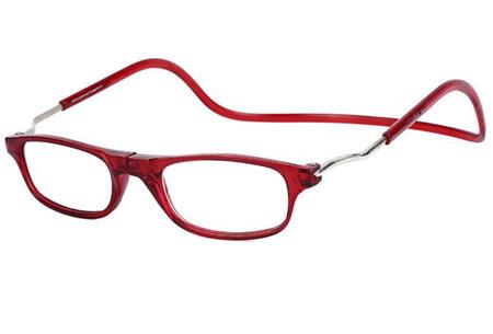 Magnetische leesbril in 7 sterktes | Nooit meer je bril kwijt! rood