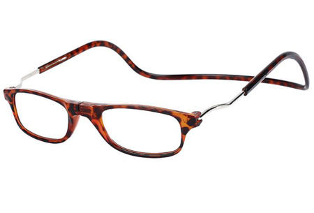 Sterkte +1 - Tortoise - Magnetische leesbril