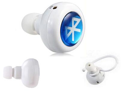 In-ear Bluetooth oordopje nu heel voordelig | Veilig en eenvoudig handsfree bellen Wit