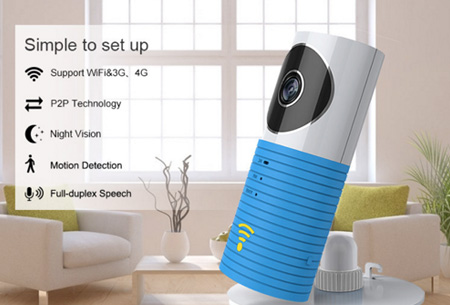 Smart Wifi security camera met night vision nu €44,95 | Hou alles in gaten via je telefoon!