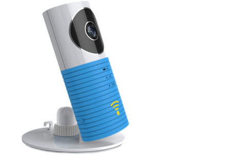 Smart Wifi security camera met night vision nu €44,95 | Hou alles in gaten via je telefoon! Blauw