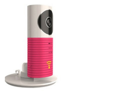 Smart Wifi security camera met night vision nu €44,95 | Hou alles in gaten via je telefoon! Roze