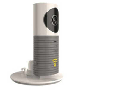 Smart Wifi security camera met night vision nu €44,95 | Hou alles in gaten via je telefoon! Grijs