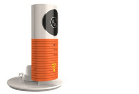 Smart Wifi security camera met night vision nu €44,95 | Hou alles in gaten via je telefoon! Oranje