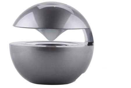 LED speaker bal met Bluetooth functie nu slechts €22,95 | Speaker en moodlamp in één! grijs