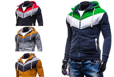 Multicolor heren vest nu slechts €19,95 | Heerlijk vest voor elk seizoen!
