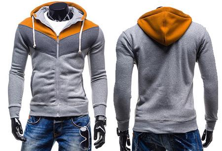 Multicolor heren vest nu slechts €19,95 | Heerlijk vest voor elk seizoen! #3 Grijs