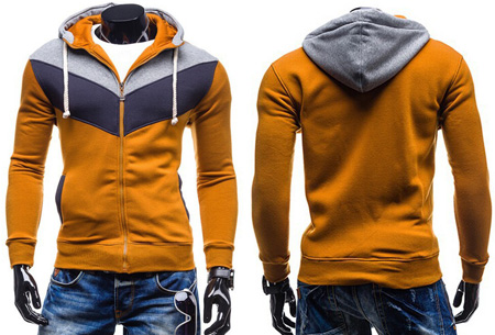 Multicolor heren vest nu slechts €19,95 | Heerlijk vest voor elk seizoen! #4 Camel