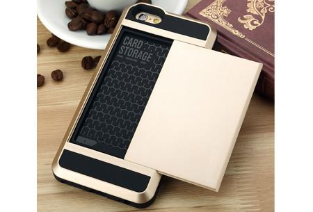 Smartphone wallet case | Voor verschillende iPhone & Samsung modellen