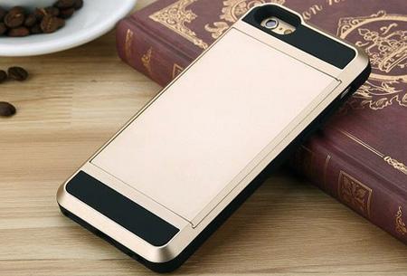 Smartphone wallet case | Voor verschillende iPhone & Samsung modellen Goudkleurig