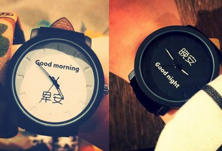 Black & White horloges nu slechts €8,95 | Met trendy grote wijzerplaat!