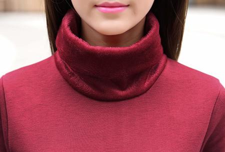 Coltrui jurk met warme fleece binnenkant nu slechts €16,95 | Mis de aanbieding niet!