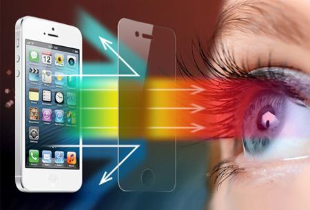 Smartphone screenprotector met blauwfilter nu slechts €6,95!