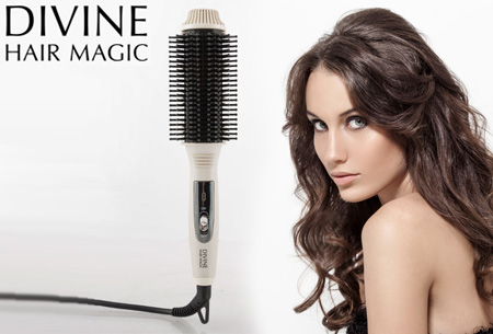Magic Brush verwarmde stijlborstel nu slechts €17,95 | Volume, krullen of slag in een handomdraai!