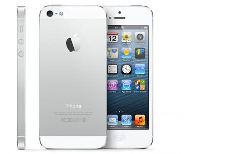 Apple iPhone 5 16GB Refurbished nu slechts €319,95 | Mis de aanbieding niet! wit