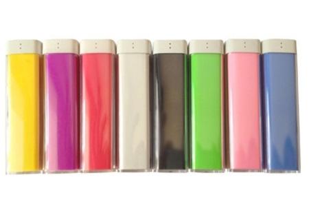 Portable oplader (2600 mAh) voor smartphone, tablet en mp3-speler nu slechts €7,95!