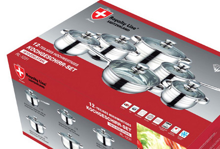 Royalty Line 12-delige pannenset nu al vanaf €44,95 | Keuze uit 2 verschillende sets