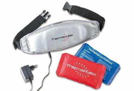 Thermapulse massagegordel met warmte- en koudetherapie nu slechts €13,95! Verlicht pijn, spanning, kneuzing en zwelling