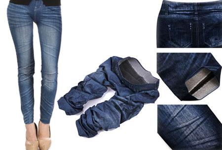 Slimfit jeans legging nu €4,95 - Comfortabel en stijlvol! Blauw - Classic