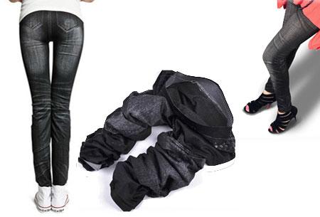 Slimfit jeans legging nu €4,95 - Comfortabel en stijlvol! Zwart - Classic