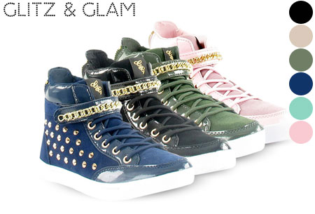 Glitz & Glam sneakers nu slechts €29,95 | Trendy & comfortabele schoenen