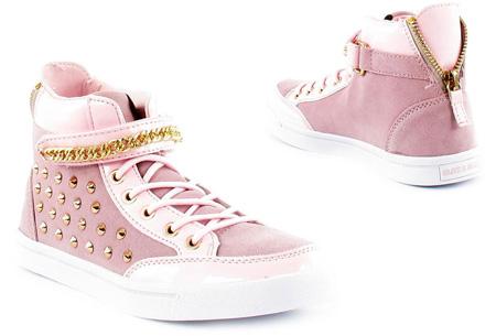 Glitz & Glam sneakers nu slechts €29,95 | Trendy & comfortabele schoenen Roze