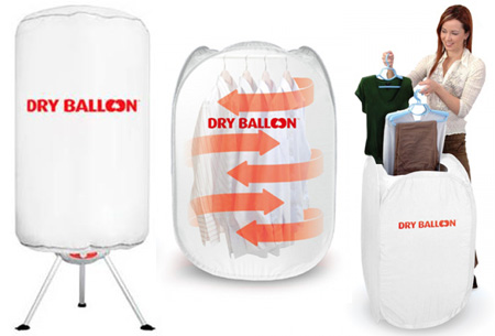 Dry balloon draagbare droger nu al vanaf €39,95 | Droog je kleding snel en eenvoudig!