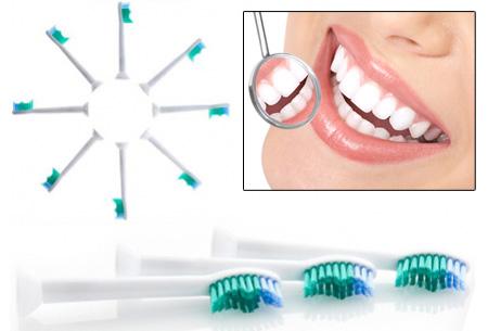 12-pack opzetborstels voor Philips Sonicare & Flexcare elektrische tandenborstels nu slechts €9,95