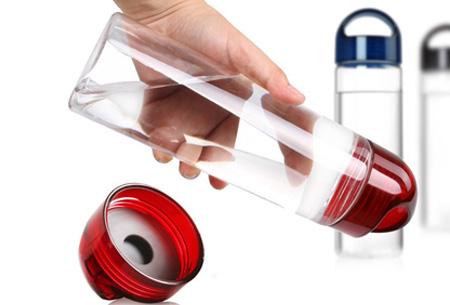 Friska waterfles met fruitfilter | Maakt water een stuk lekkerder!